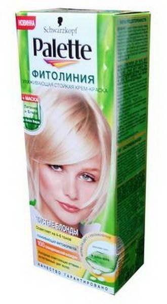Краска д/волос PALETTE Фитолиния №100 Скандинавский Блондин