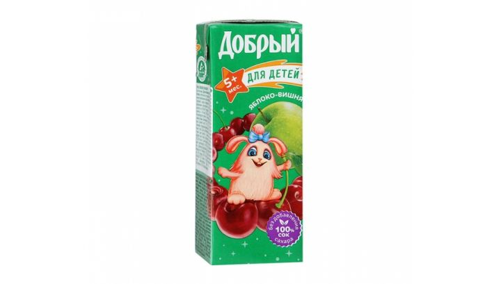 Нектар Добрый 0,2л Вишня/Яблоко