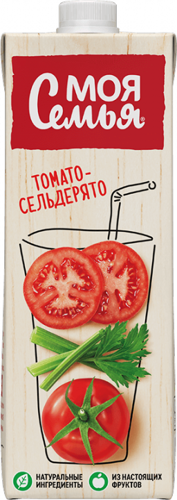Нектар Моя Семья 0,95л томат