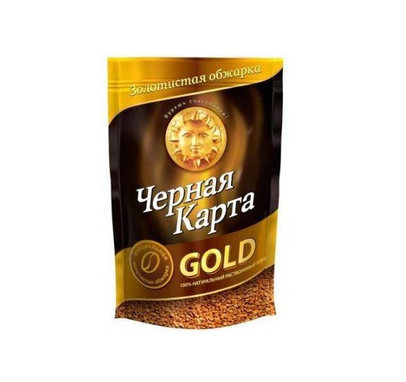 Кофе Черная карта Голд раств. м/у 150г