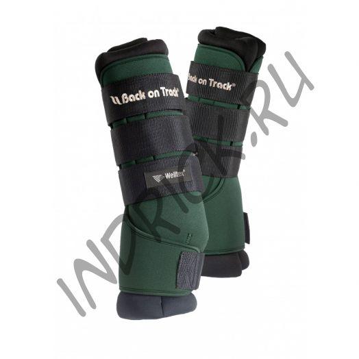 Денниковые ногавки с ватниками Back on Track Royal, цвет Green