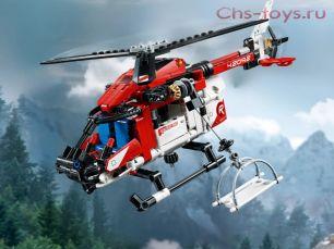 Конструктор King ТехникаIAN Спасательный вертолёт 20095 ( 42092) 364 дет
