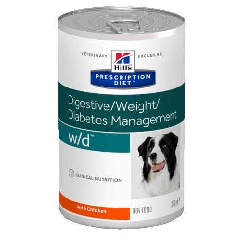 Консервы HILL's DIET W/D диета для собак всех пород с избыточным весом 370гр