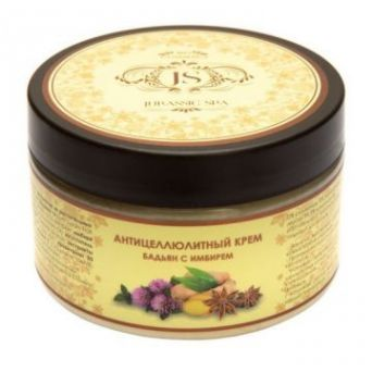 JURASSIC SPA - Антицеллюлитный крем Бадьян с имбирем, 300мл