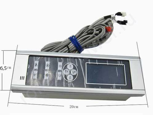 Пульт управления душевой кабиной 20х6,5см