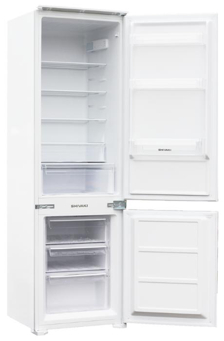 Встраиваемый холодильник Shivaki BMRI-1774