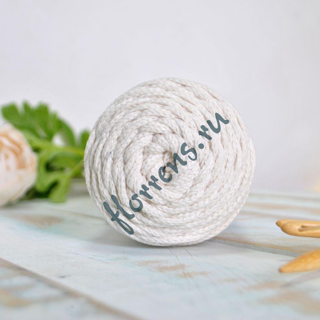 Шнур для вязания / ваниль