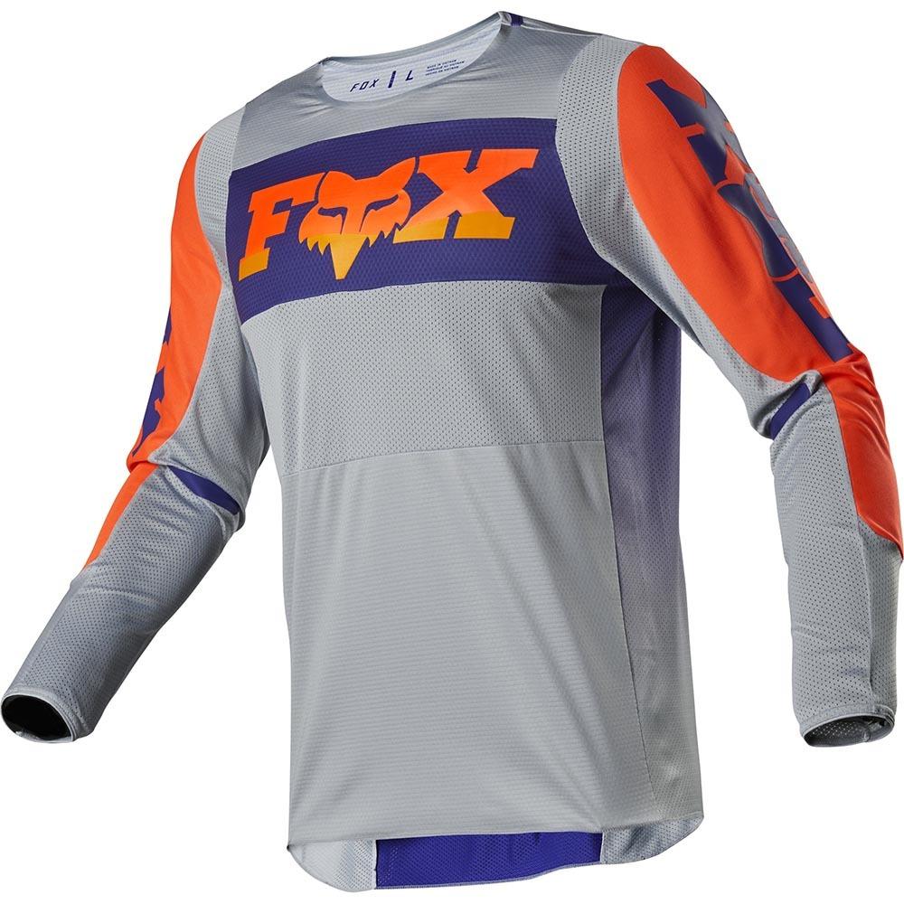Fox - 2020 360 Linc Grey/Orange джерси, серо-оранжевое