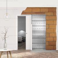 Пенал Eclisse Unico Single под штукатурку (полотно 2000 мм) фото