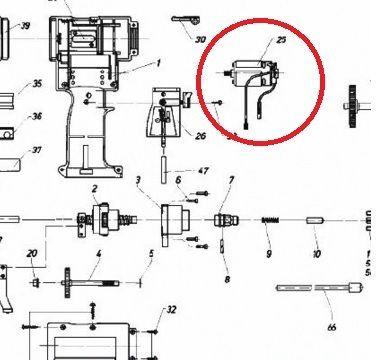 Двигатель для заклепочника PowerBird