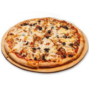 Пицца Мясная 1000г
