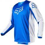 Купить Fox 180 Prix Blue джерси, синее для мотокросса, эндуро и ATV в интернет-магазине TotalMX