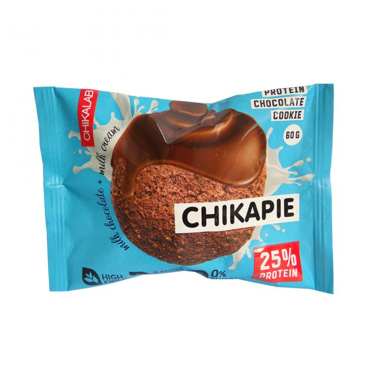 Chikapie от Chikalab Протеиновое печенье Шоколад 60 гр