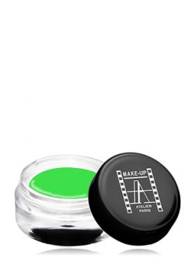Make-Up Atelier Paris Gel Color Waterproof CGVP Green apple Краска гелевая водостойкая зеленое яблоко