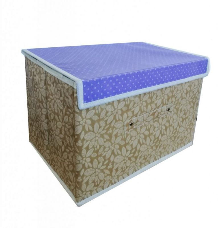Складной короб для хранения вещей, 36х24х24 см, цвет Бежевый