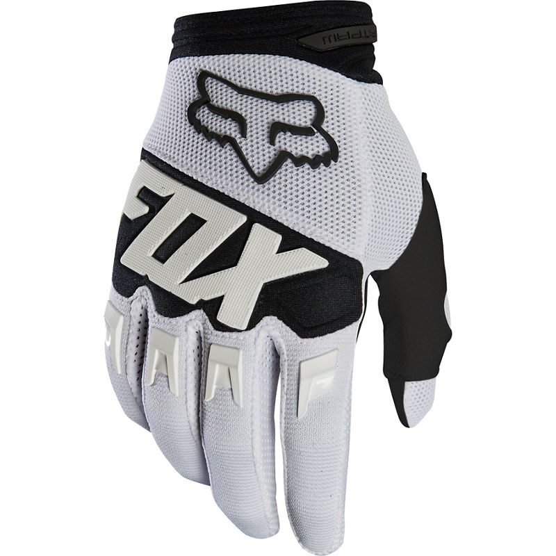 Fox - 2020 Dirtpaw Race White перчатки, белые