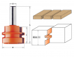 CMT 955.501.11 Фреза концевая сращивания D44,4 I32,0 S12,0 L70,1