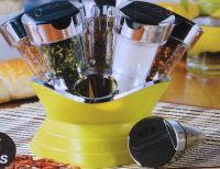 Стойка для специй 6 Jars Spice Rack Set
