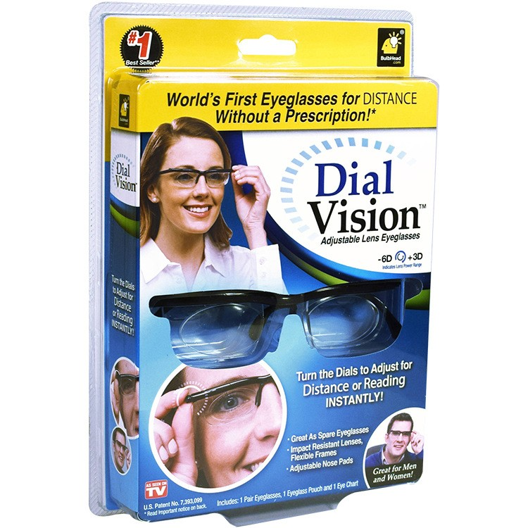 Очки с регулировкой линз Dial Vision