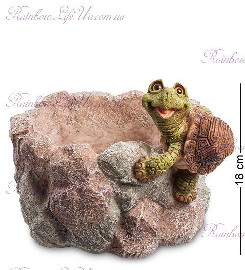"Кашпо Черепаха на камне ""Sealmark"""