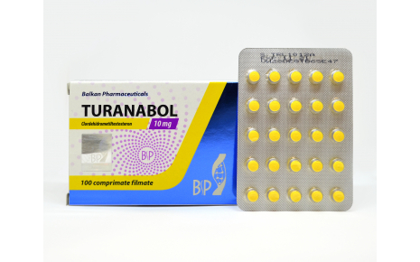 Turanabol 100 таб 10 мг - Balkan Pharmaceuticals