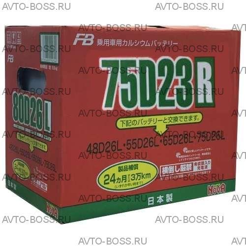 Аккумулятор FB SUPER NOVA 75D23R Ёмкость 65 Ah, пусковой ток 620 А, 230x169x225