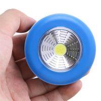 Светодиодный мини-светильник на липучке Stick Touch Lamp, цвет синий (1)