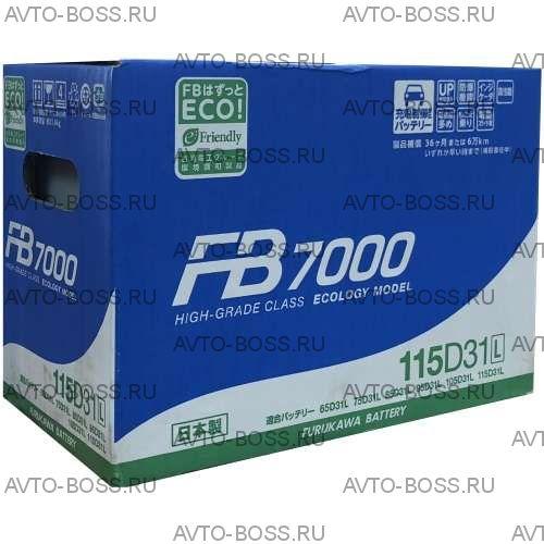 Аккумулятор FB7000 115D31L Ёмкость 90 Ah, пусковой ток 900 А, 304x171x225
