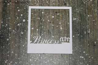 "Рамка полароид ""Princess"""