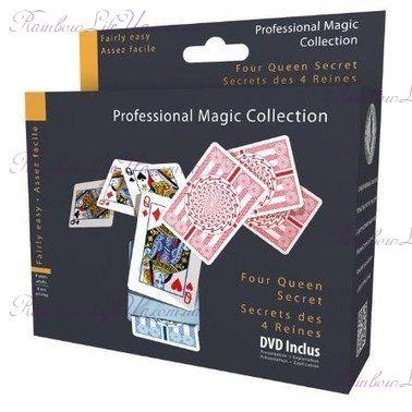 """Фокусный набор Тайна четырех королев с DVD """"OID Magic"""""""