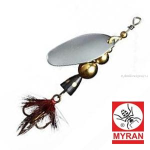 Блесна вертушка Myran Mira 15гр / цвет: Silver 6475-01
