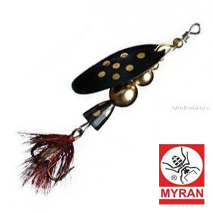 Блесна вертушка Myran Mira 20гр / цвет: Black 6476-09