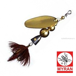 Блесна вертушка Myran Mira 20гр / цвет: Gold 6476-02