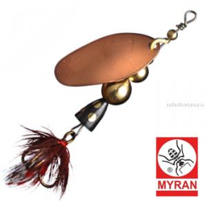 Блесна вертушка Myran Mira 2гр / цвет: Koppar 6470-03