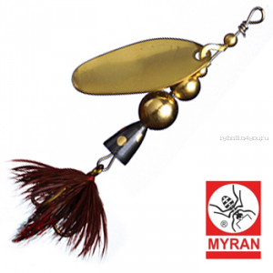 Блесна вертушка Myran Mira 4гр / цвет: Guld 6471-02