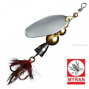 Блесна вертушка Myran Mira 5гр / цвет: Silver 6472-01