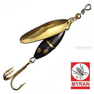 Блесна вертушка Myran Panter 3гр / цвет: Guld 6480-02