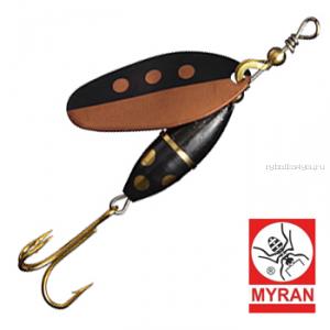Блесна вертушка Myran Panter Harr 10гр / цвет: Koppar 6583-HA-K