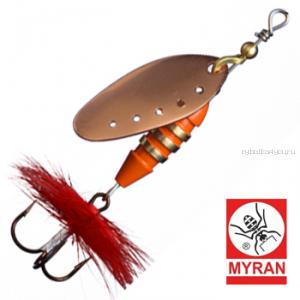 Блесна вертушка Myran Toni 7гр / цвет: Koppar 6431-03
