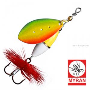 Блесна вертушка Myran Wipp 5гр / цвет: Rainbow 6641-RB