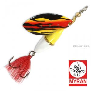 Блесна вертушка Myran Wipp 7 гр / цвет: Flame 6842-254