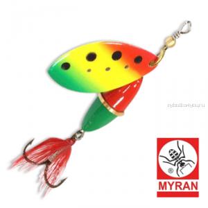 Блесна вертушка Myran Wipp 7 гр / цвет: Zulo 6842-259