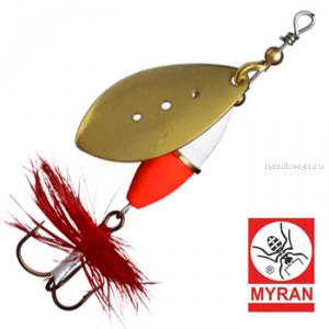 Блесна вертушка Myran Wipp Hot 3гр / цвет: Guld 6540-02