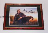 Автограф: Кевин Костнер. Танцующий с волками