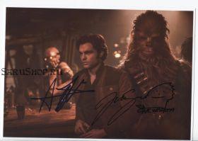 Автографы: Олден Эренрайк, Йонас Суотамо. Хан Соло: Звёздные войны. Истории