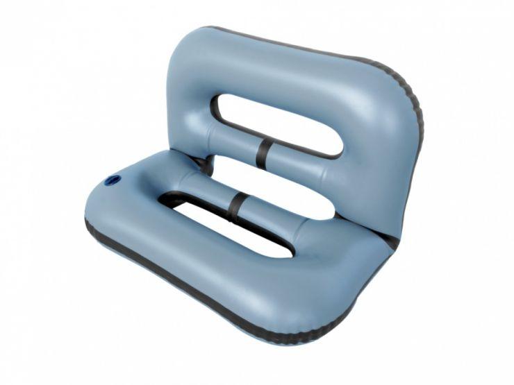 Кресло надувное 97х65х65 серое