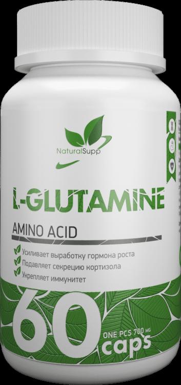 L-Glutamine от Natural Supp 60 капс