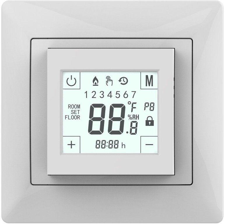 Терморегулятор Grand Meyer W225 Mondial Series сенсорный программируемый для теплого пола