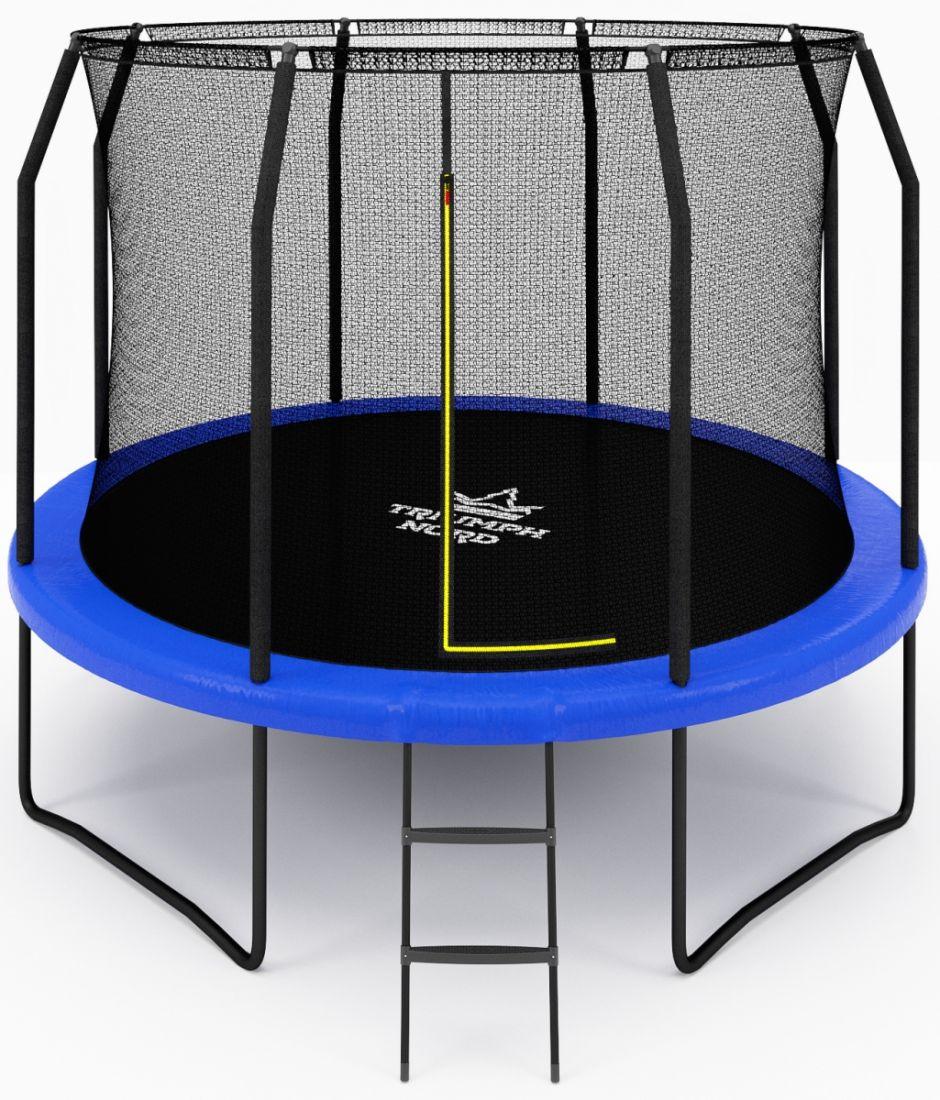Бaтут для дaчи с сеткой Триумф Норд Семейный премиум 305 см