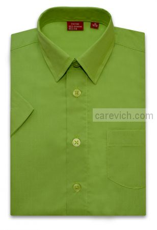 Рубашка с коротким рукавом дошкольная, опт 10 шт., артикул: Greenery-k